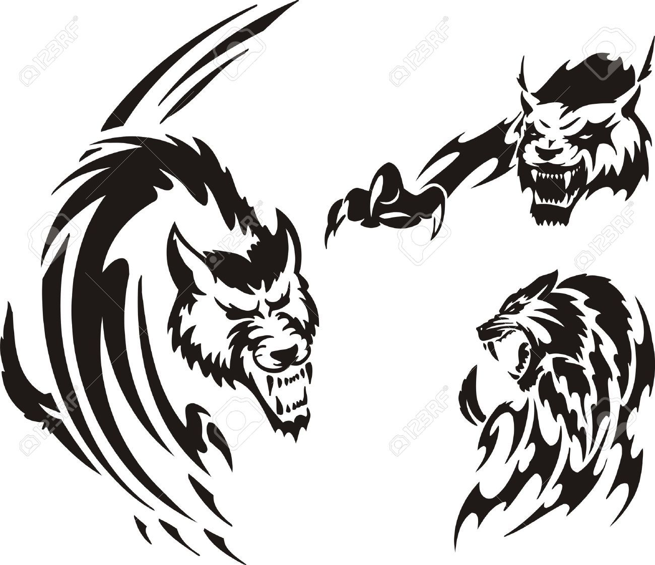 tribal badger tattoo google search tattoos pinterest