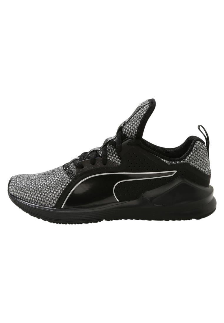 Puma FIERCE CORE - Zapatillas fitness e indoor black/silver ettnBoVIrL