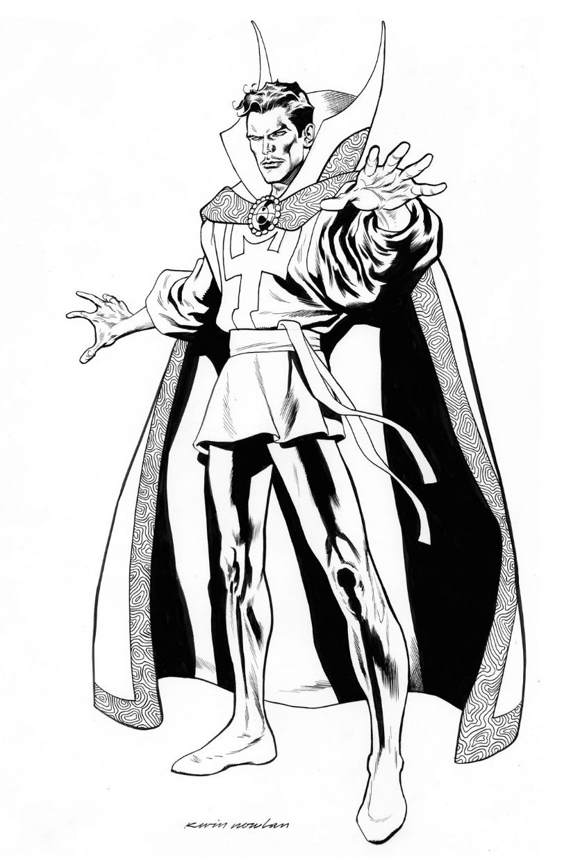41++ Dr strange coloring sheets ideas in 2021