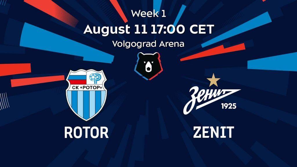 Assistir Rotor Volgograd X Zenit Futebol Ao Vivo Campeonato Russo 2020 Futebol Stats Futebol Ao Vivo Futebol Dynamo Moscow