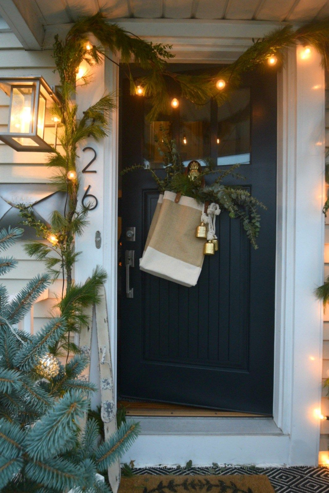 Christmas Ideas In A Small Space Holiday Housewalk Main Floor Nesting With Grace Christmas House Lights Exterior Christmas Lights Decorating With Christmas Lights
