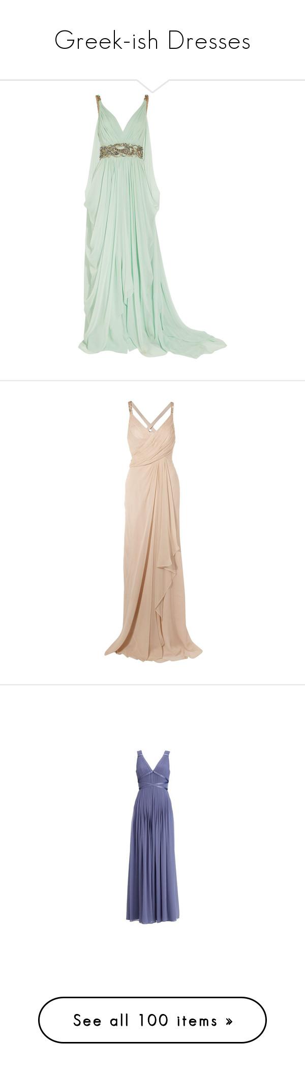 Greekish dresses