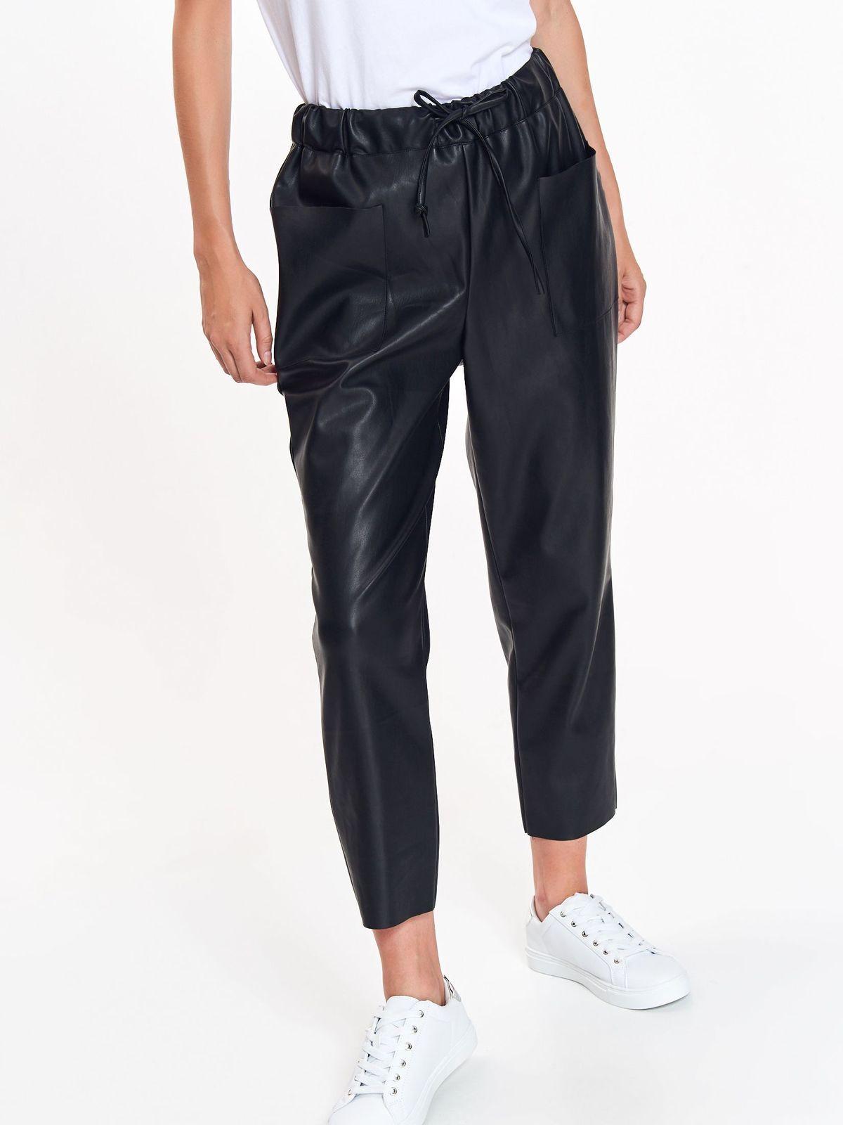 718f21b13a8ad1 Spodnie damskie czarne - SSP3052 spodnie długie - TOP SECRET - Odzieżowy  sklep internetowy TOP SECRET