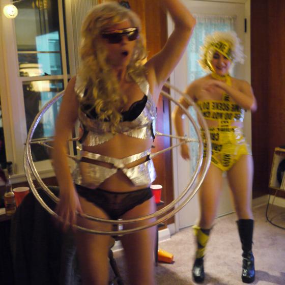Lady Gaga Gyroscope and Crime Scene Tape Costume Ideas #Lady Gaga ...