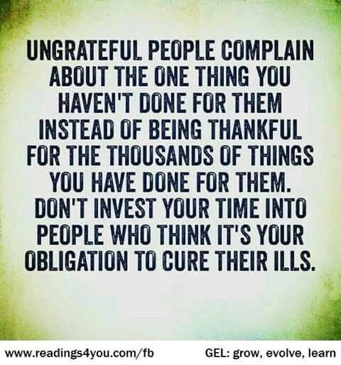 Bible Quotes Ungratefulness: Ungrateful People