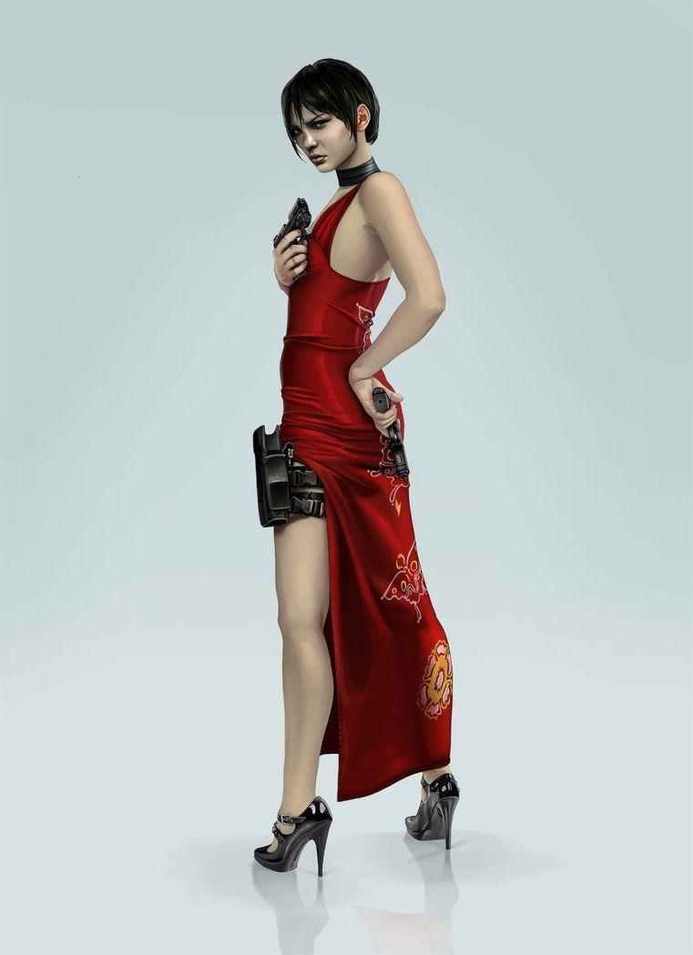 [SFM] Ada Wong Movie Poster by Light-Of-Heavens on DeviantArt