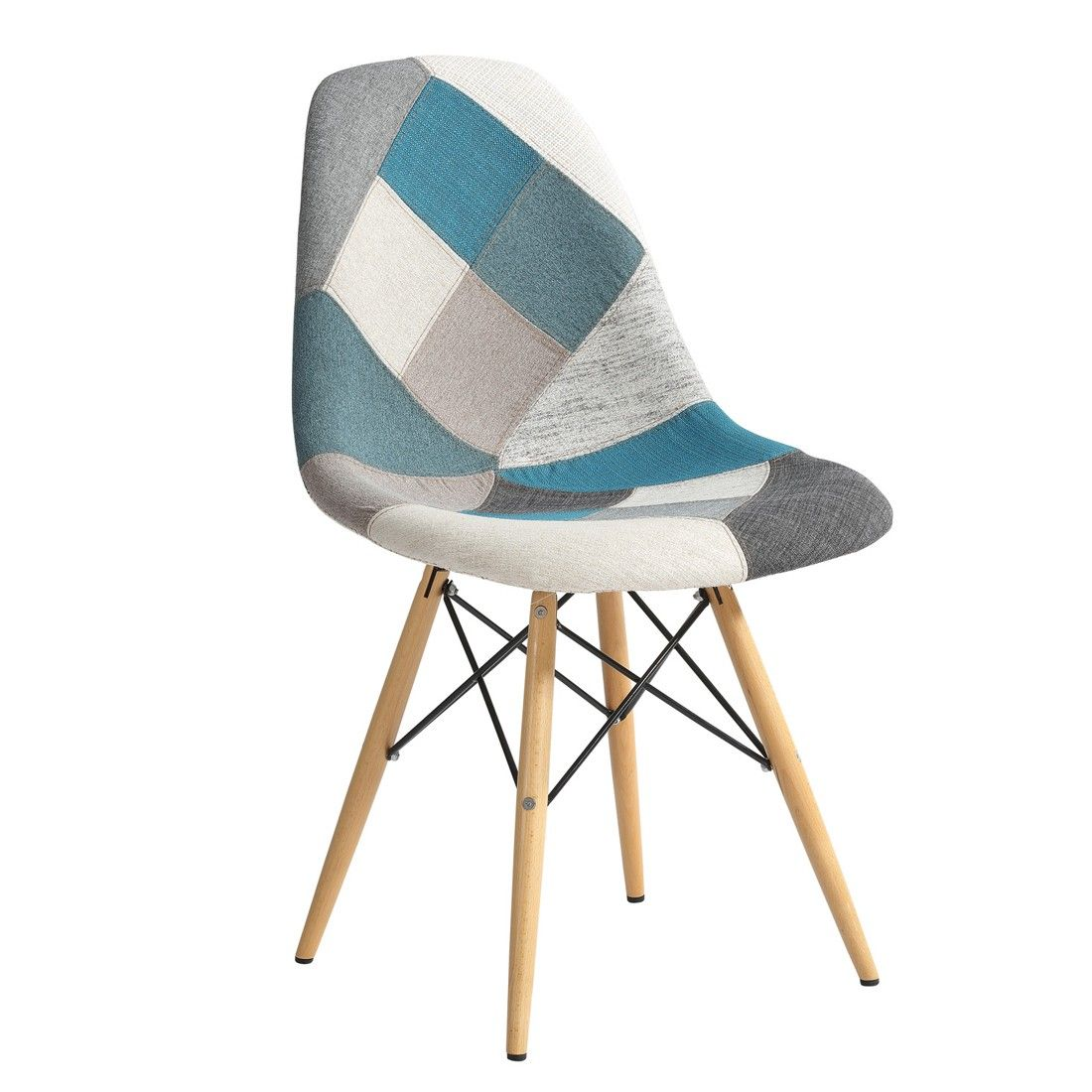 Eames Replica Dining Chair Patchwork Blue 229 00 Nzd New Zealand