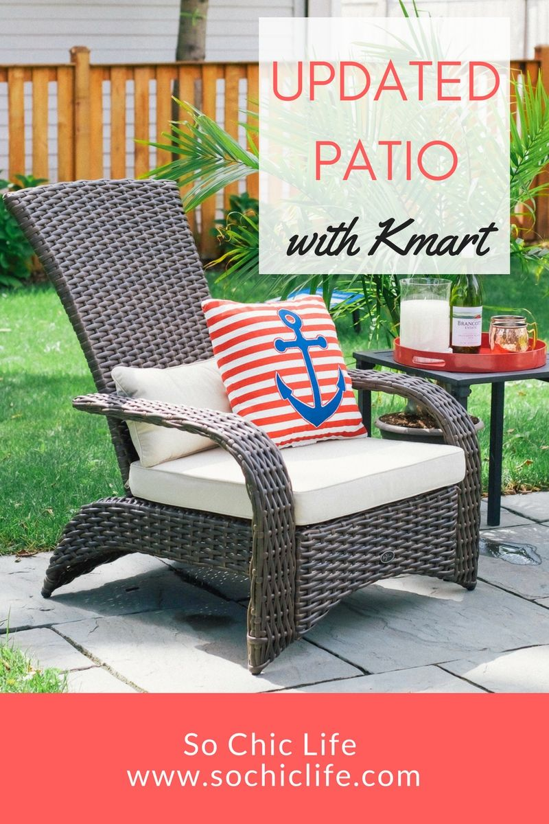 Nice Shopping The Kmart Patio Furniture Selection Online Was Quick And Included Free  Shipping. Donu0027