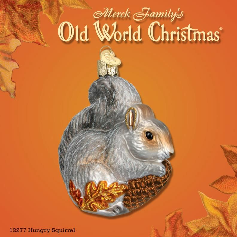 """Our last fall """"Ornament of the Week"""" is the cute 'Hungry"""
