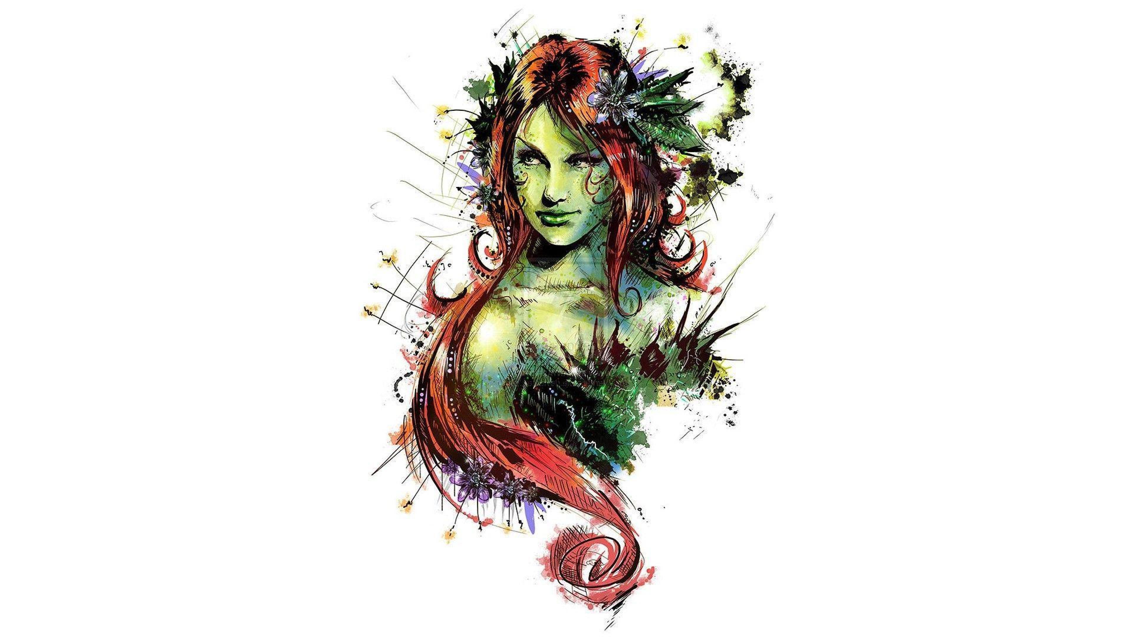 Dc Ivy Comics Poison Poison Ivy Hd Wallpapers Desktop Backgrounds