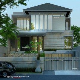 Desain Rumah 3 Lantai Minimalis Tropis Home Pinterest House