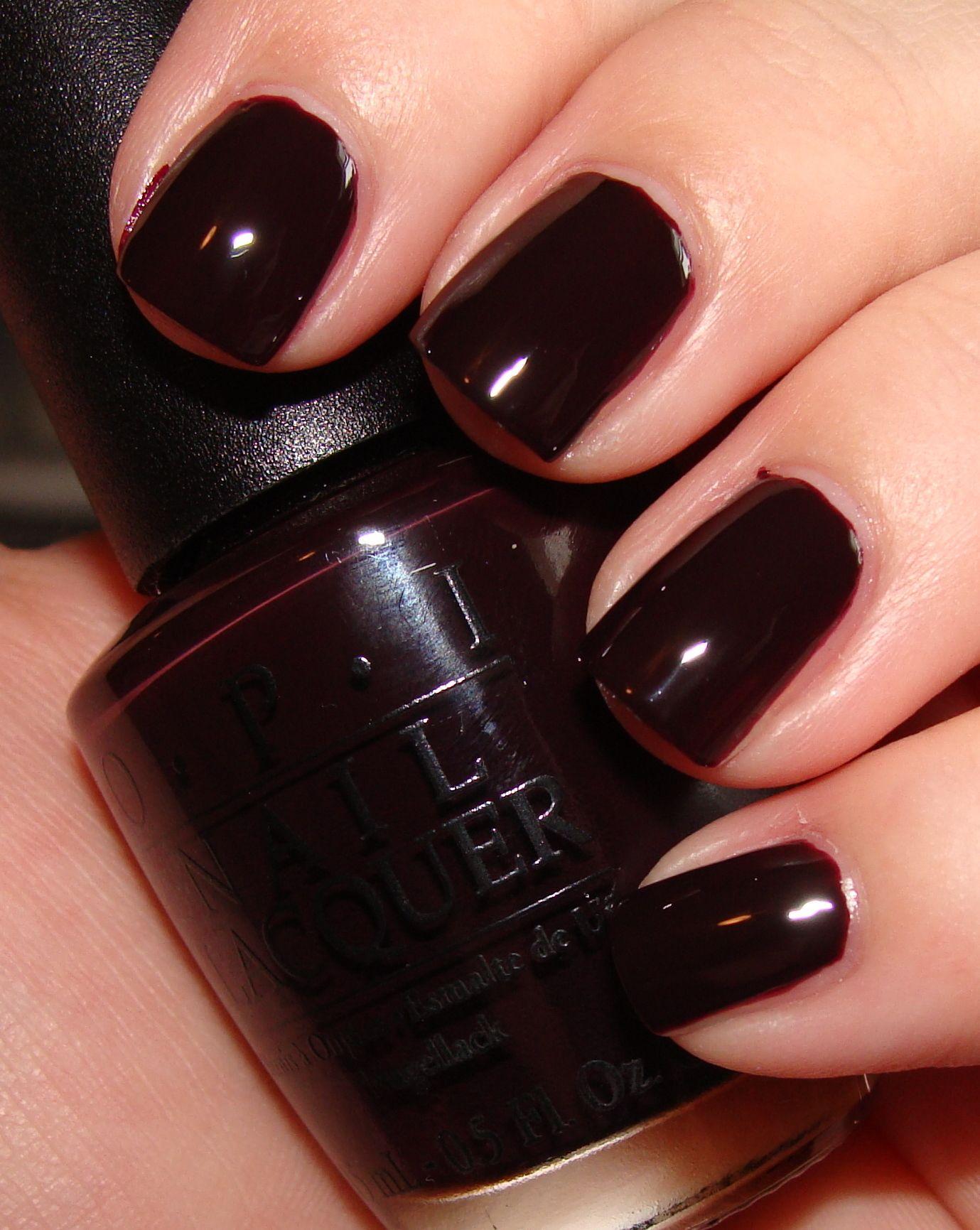 OPI \'Lincoln Park After Dark\' colour #nails #nailpolish #manicure ...