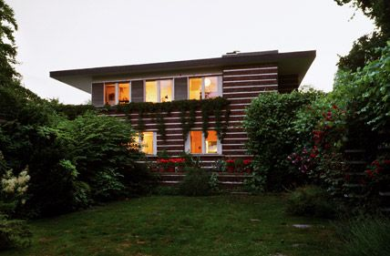 Landhaus Bejach 1926 Berlin Erich Mendelsohn House Styles Architecture Outdoor Decor