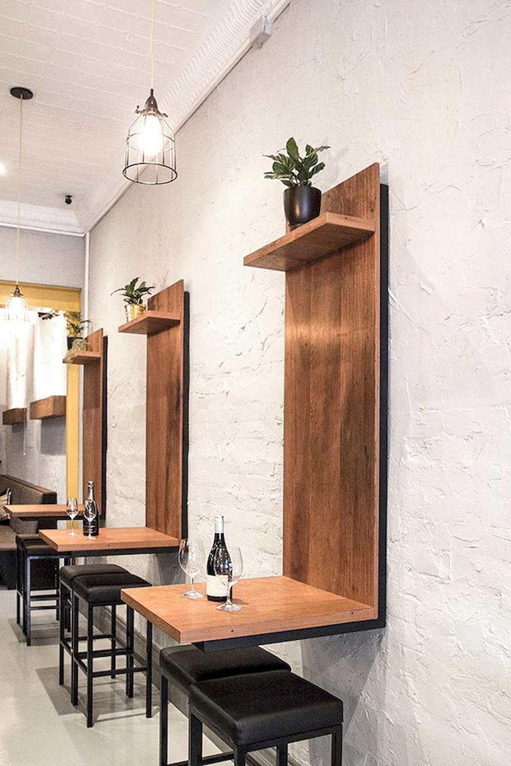 55 Cute Small Dining Room Furniture Ideas Restaurant Furniture Restaurant Tables Cafe Design