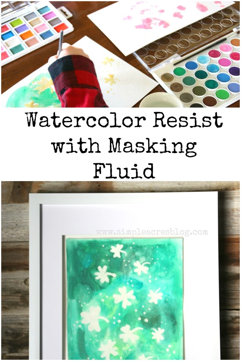 Resist and Masking Techniques