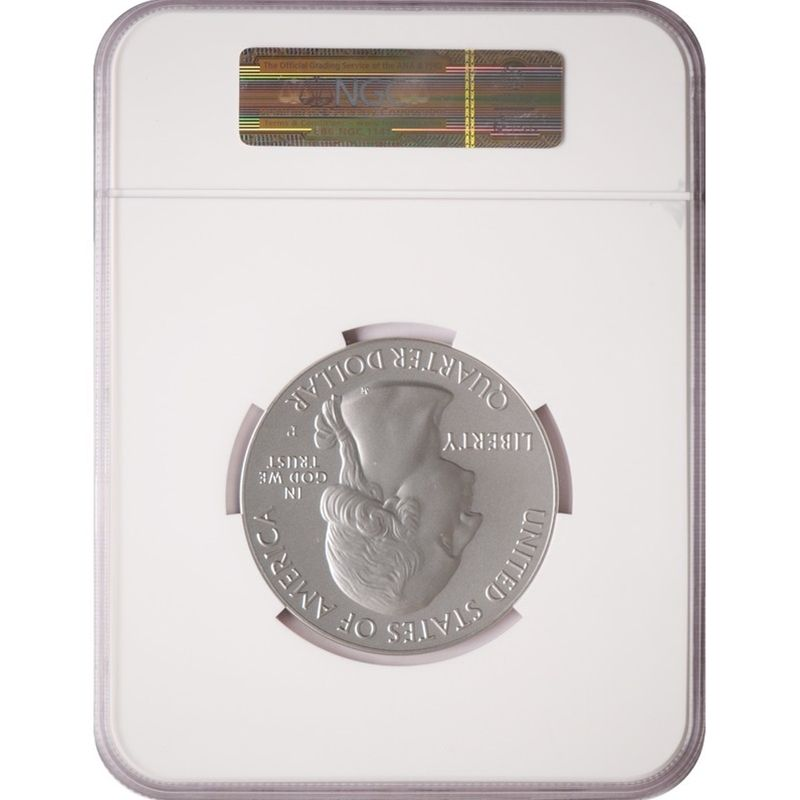 2013-P America The Beautiful Silver 5oz Fort McHenry SP69 ER NGC National Treasures Label