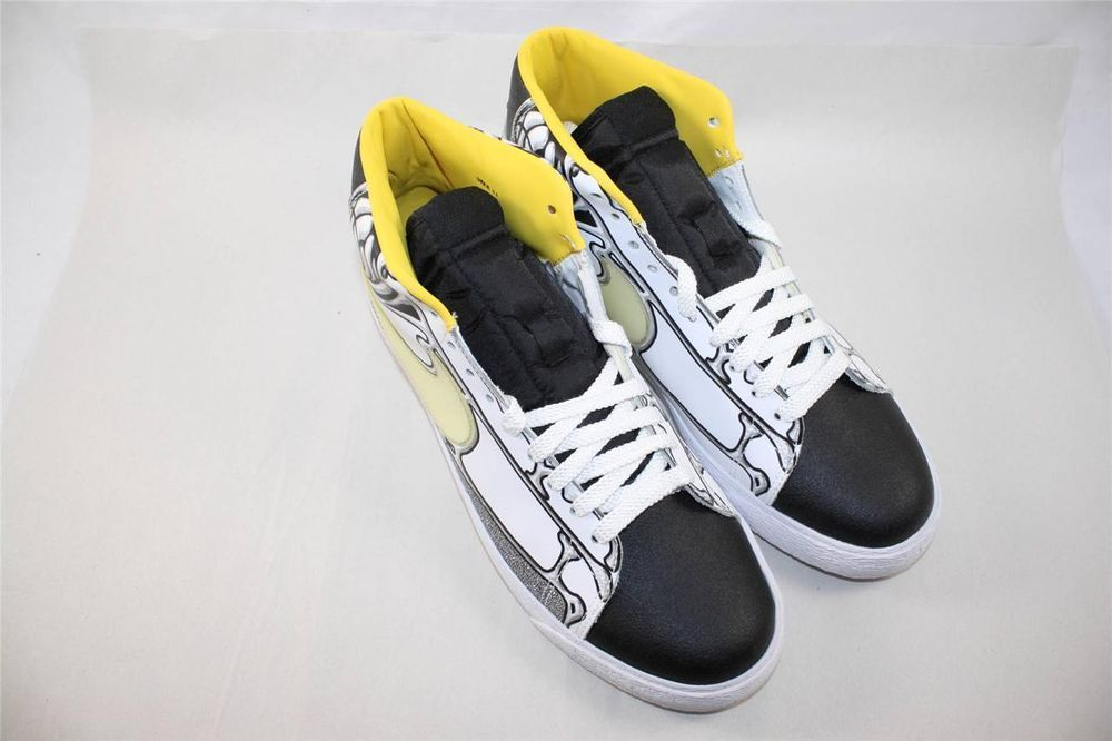 official photos 046d3 98287 Brand New Nike Blazer High Premium Size 11 White Black Varsity Maize 316397  111  Nike  Athletic