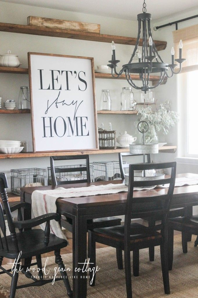 30 Beautiful Farmhouse Decorating Ideas For Summer | Dining ...