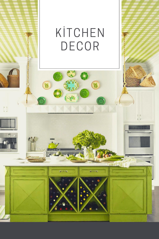 Kitchen Decor Lime Green Green Kitchen Interior Green Kitchen Designs Apple Kitchen Decor