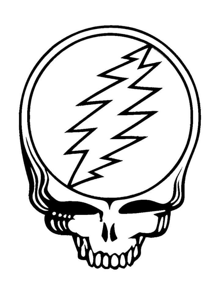 Stealy template | Grateful Dead | Pinterest | Grateful dead ...