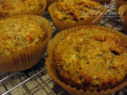 low salicylate muffins - watch coconut though