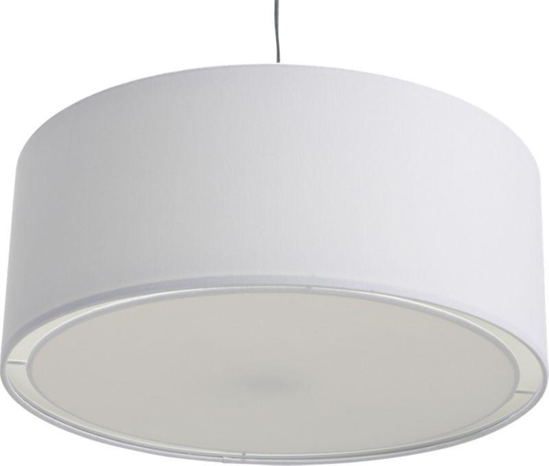 Exceptional Dinning Room Eden White Pendant Lamp In Pendant Lamps Good Ideas
