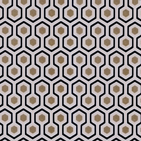 Papier peint Hicks\' Hexagon - Cole and Son | David hicks and Sons