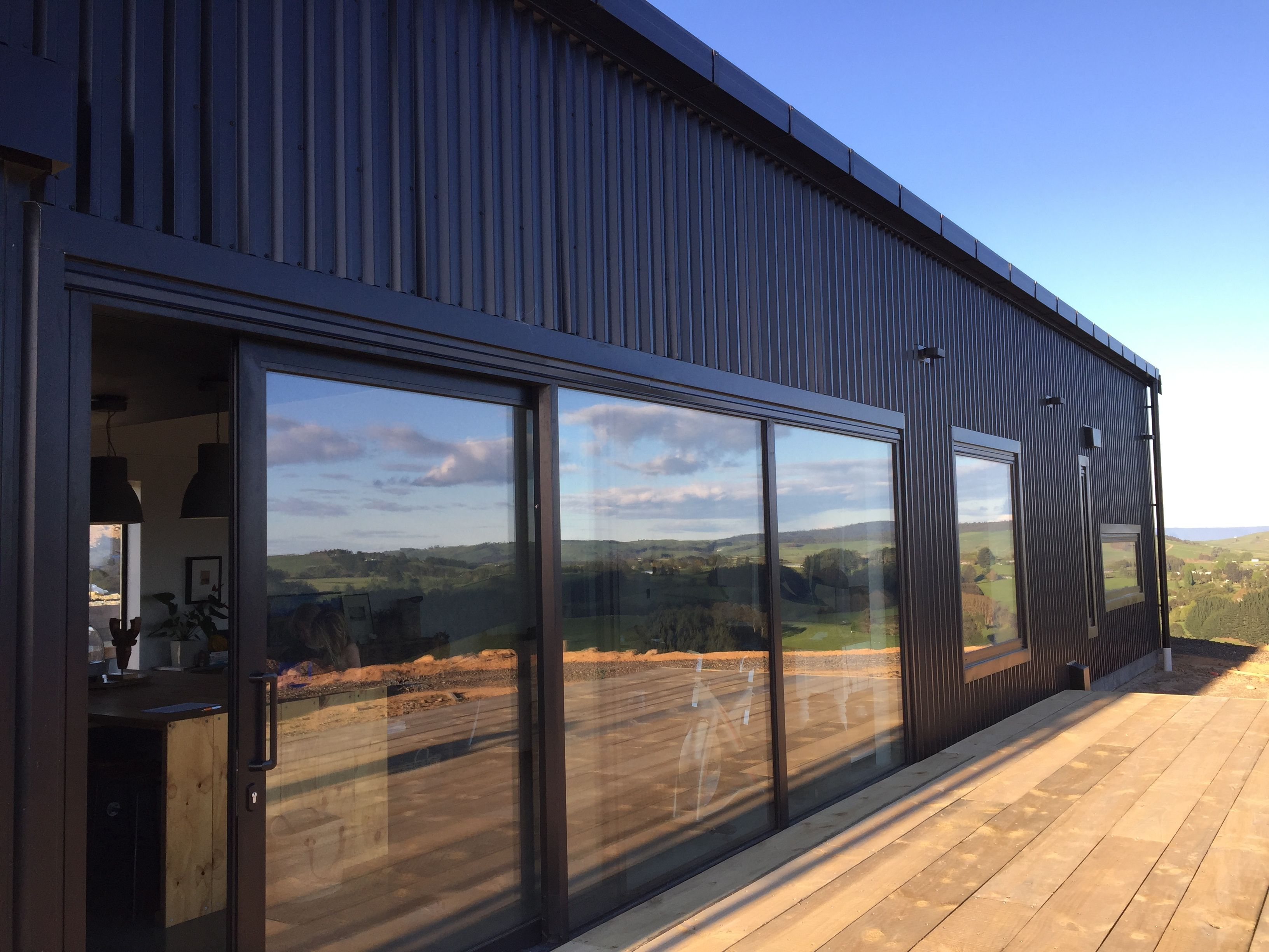 6m Wide Stacked Sliding Door On Our Sips House Met Com 7