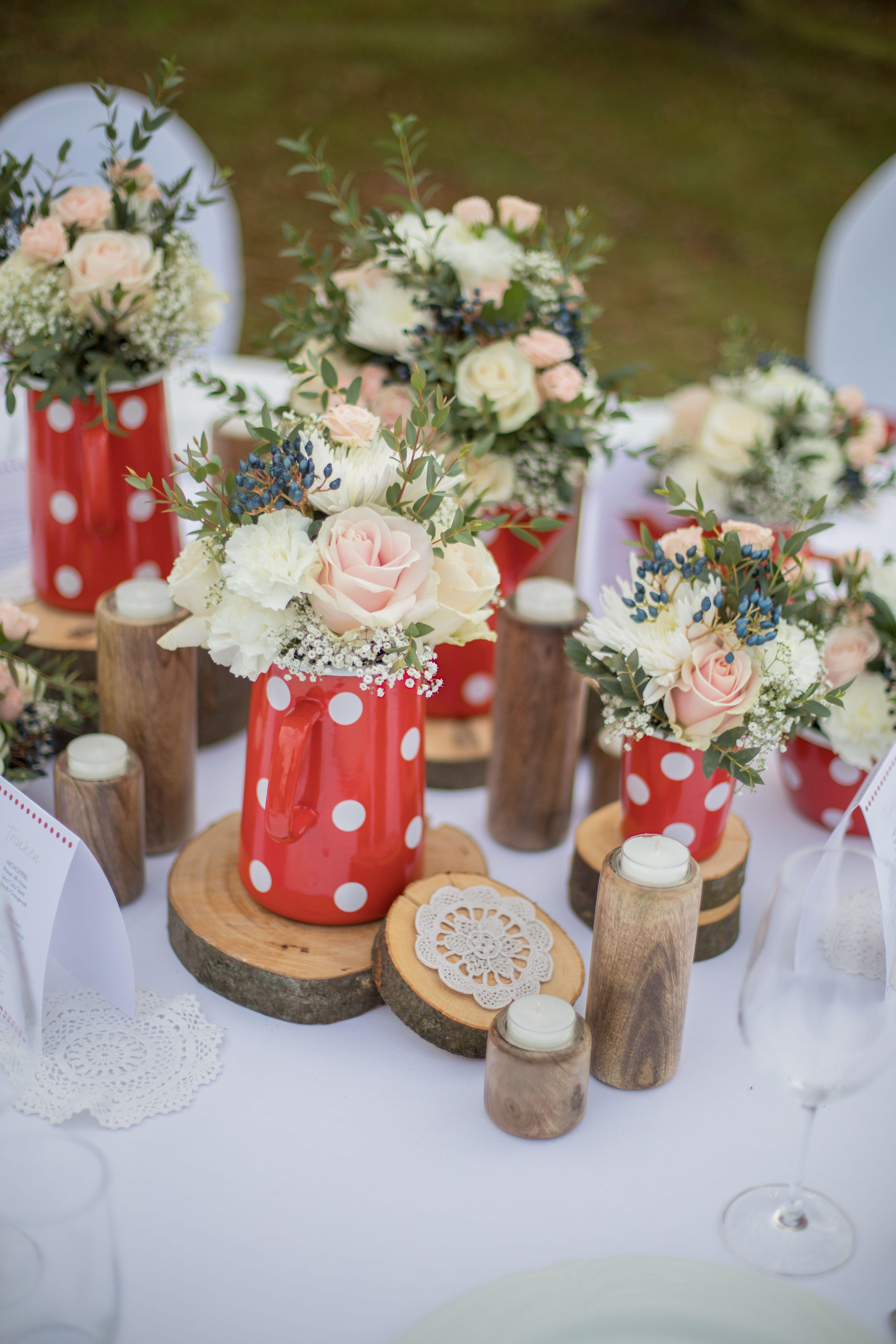 Hochzeit Hochzeitsdeko Hochzeitsdekoration Idee Inspiration