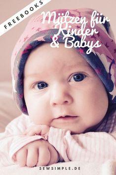 Freebooks: Mützen und Co. für Kinder und Babies #toddlershorts