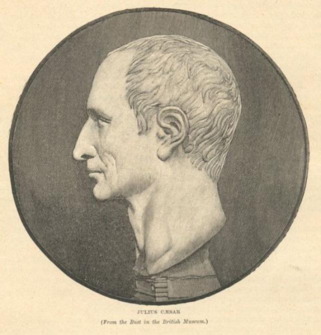 where was julius caesar born