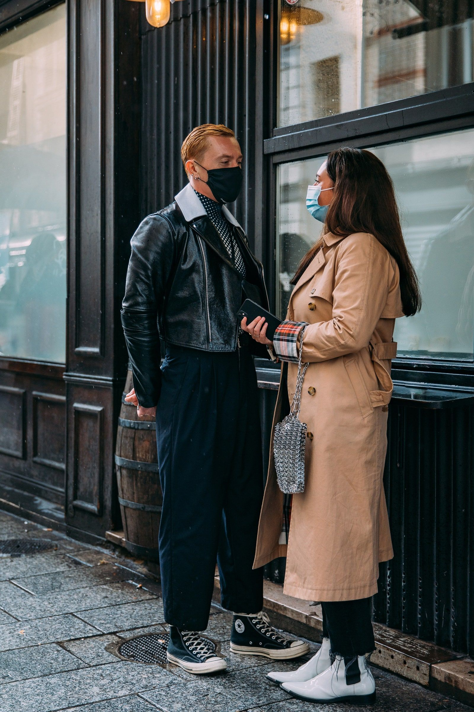 The Best Street Style From Paris Fashion Week Spring 20   Vogue ...