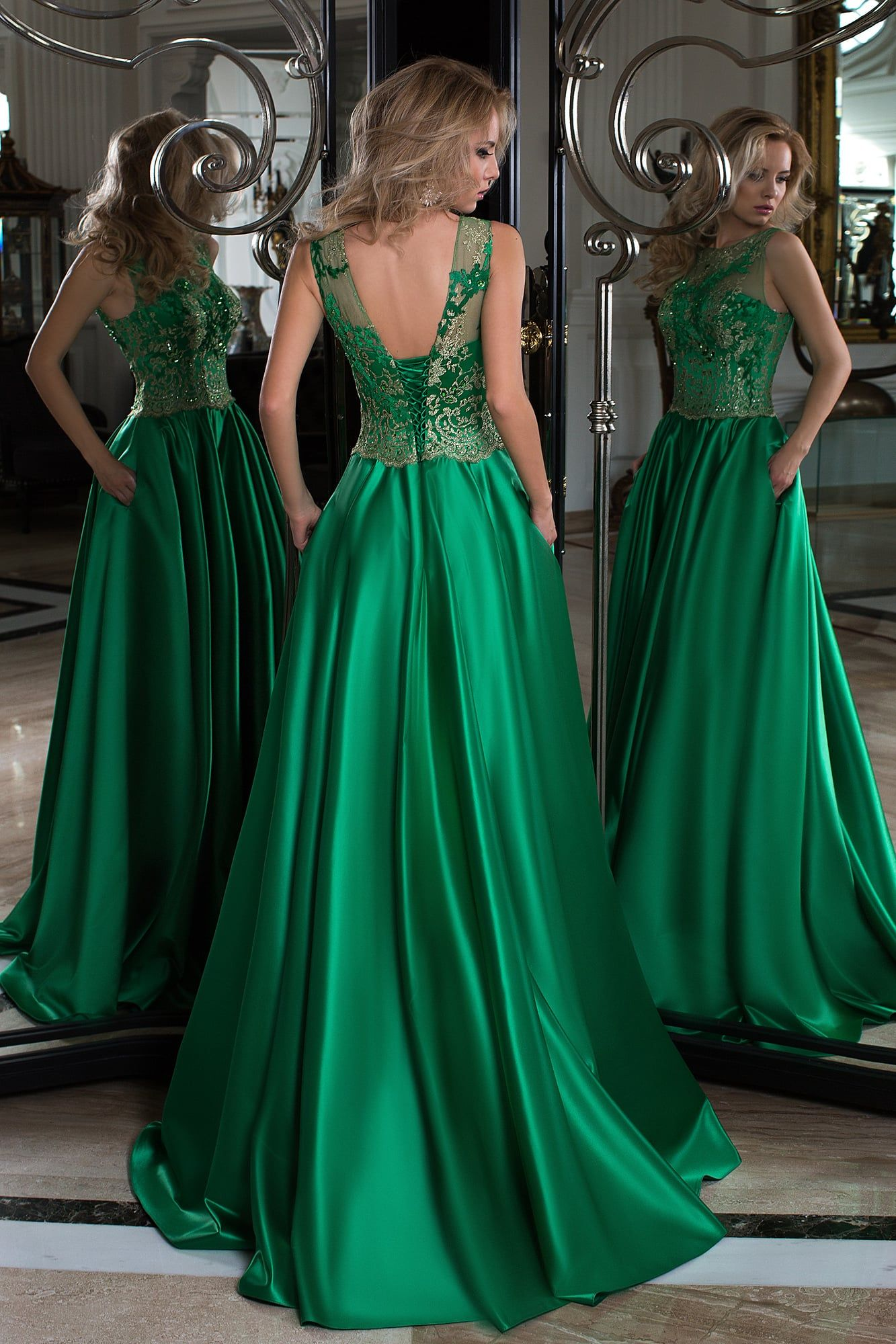 5ed166c4302ee Evening dress Oksana Mukha 16-1010-1 ▷ Wedding Shopping Center Vega in  Moscow