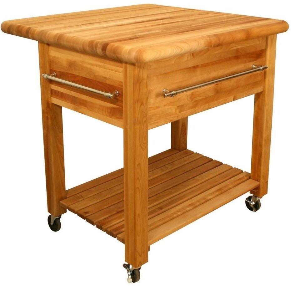 Thick Butcher Block Top Kitchen Cart With Drop Leaf And Wine Rack Awesome Kitchen Cart With Drop Leaf Design Decoration