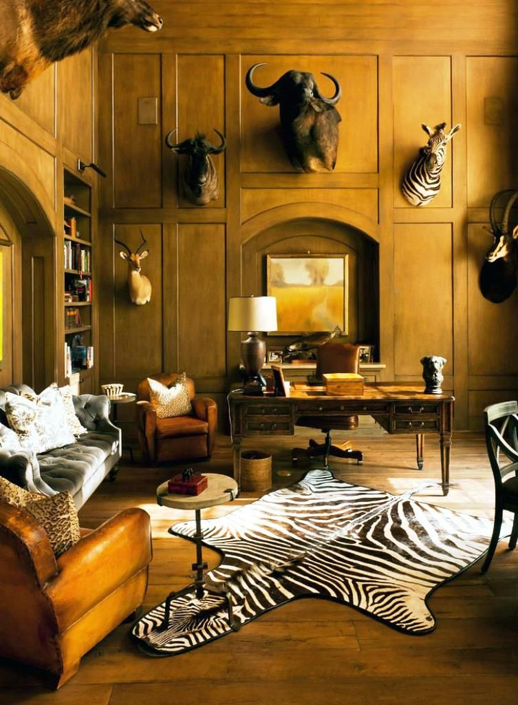 Safari Decorating Ideas For Living Room Safari Living Rooms