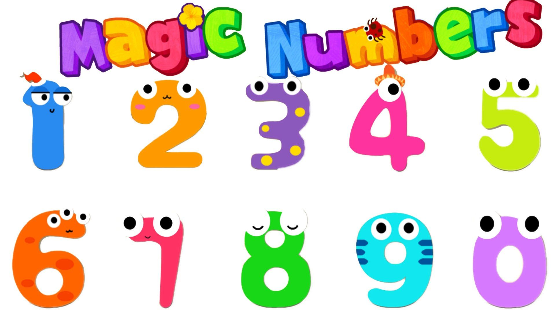 Magic Numbers BabyBus Kids Games Kids Learn Writing Numbers 0