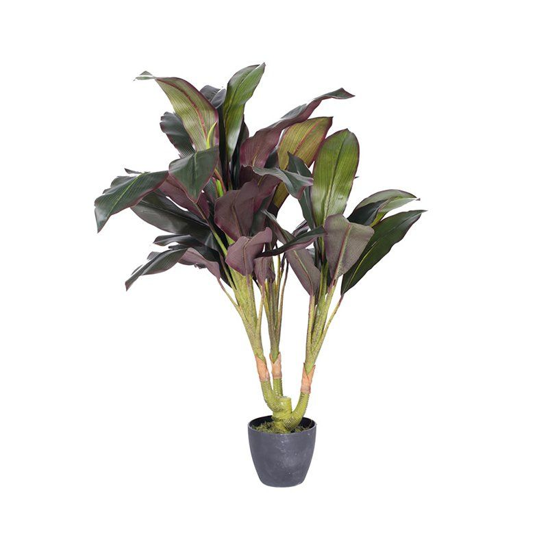 Vickerman 30 in. Artificial Real Touch Dracaena Silk Plant - T160930