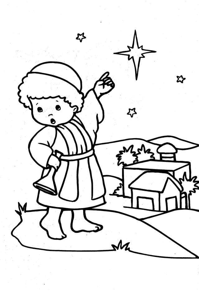 Simbolos Do Natal A Estrela De Belem Com Imagens Desenho De