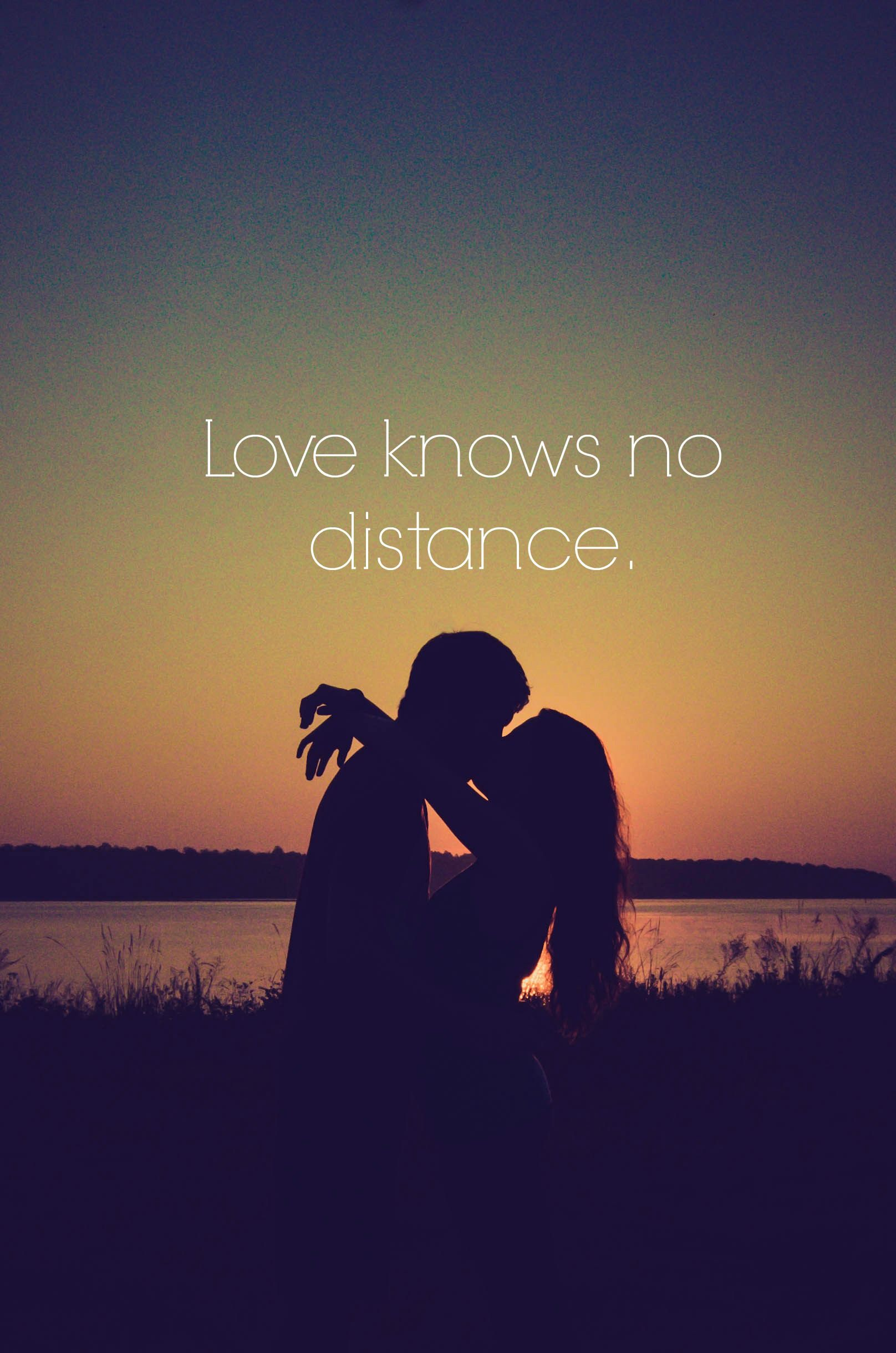 Long Distance Love Quotes Kisses | Wallpaper Image Photo