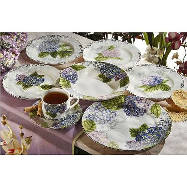 \u003cli\u003eGive your dinner table a springy look with these floral dishes\u003cli\u003eHydrangea Toile dinnerware set from American Atelier made of decal porcelain\u003cli\u003ePlates ...  sc 1 st  Pinterest & li\u003eGive your dinner table a springy look with these floral dishes ...