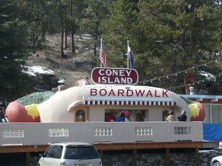 Coney Island Boardwalk Restaurant In Bailey Colorado Pays Homage To S Favorite Food