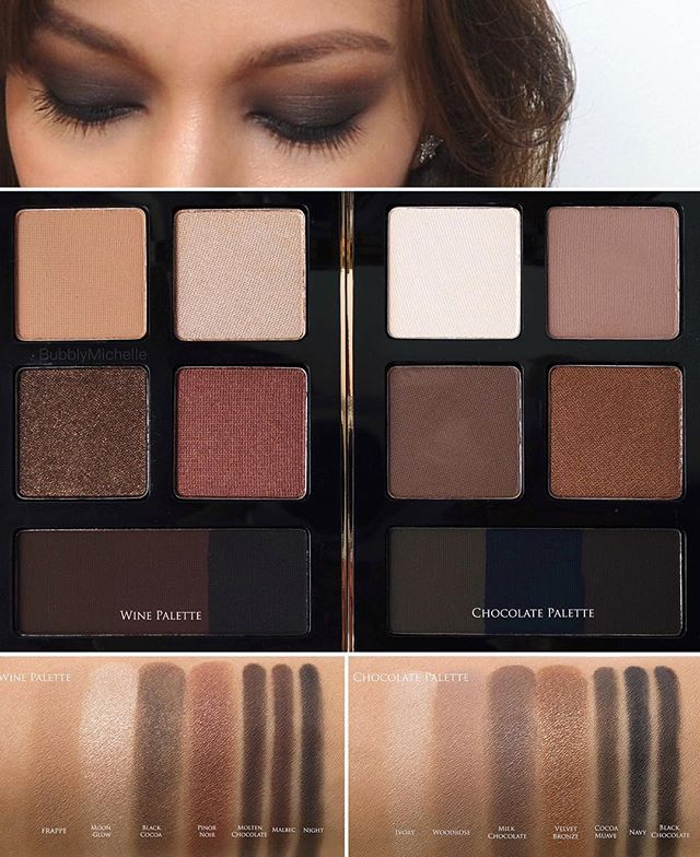 Side By Side Swatches Of The Gorgeous Bobbi Brown Wine