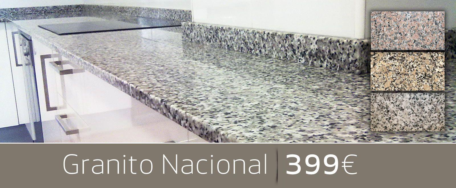 Oferta encimera granito nacional things pinterest for Encimeras de granito nacional