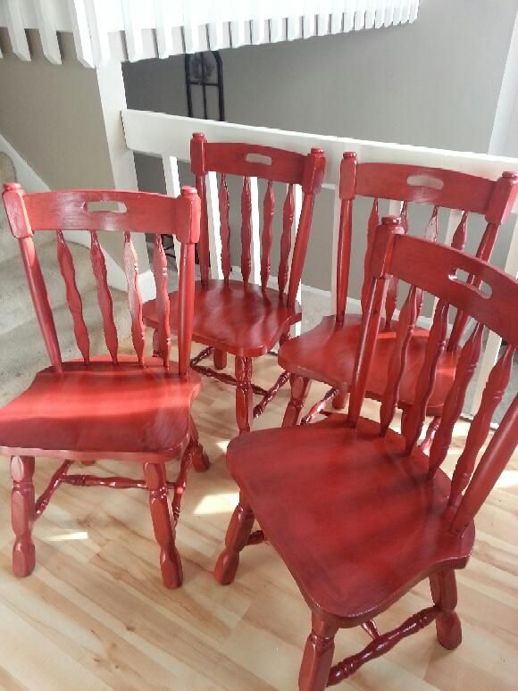My Chairs I just finished painting!