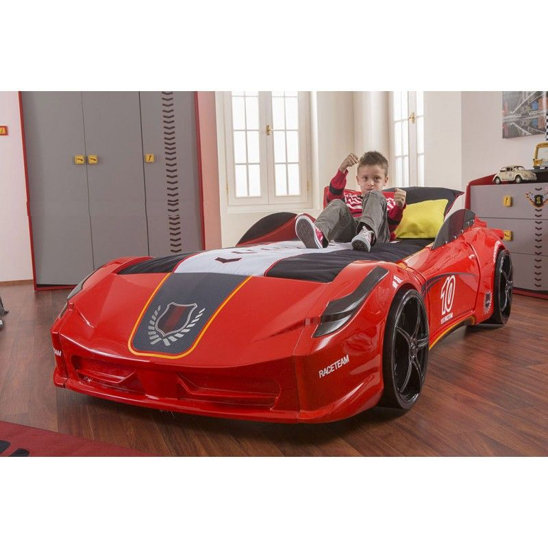 Ferrari Race Car Bed Styling Bedroom Theme For Your Child