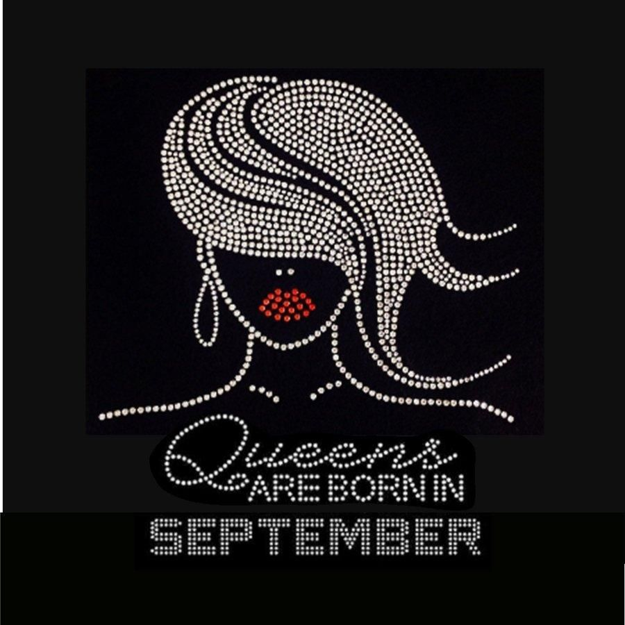 Glamour Girl Queens Are Born In September 9 25x9 With Images