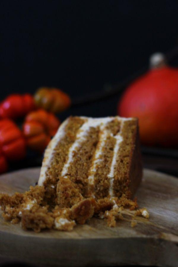 Rezept Kurbis Gewurz Torte Mit Bildern Rezepte Beste Kuchen Lebensmittel Essen
