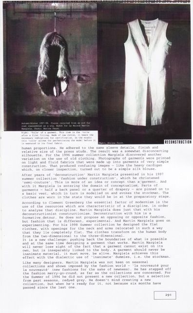 MM - Belgian Fashion Design