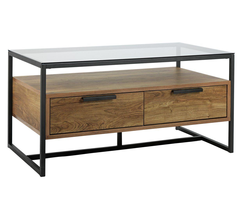 Buy Argos Home Nomad Coffee Table Oak Effect Coffee