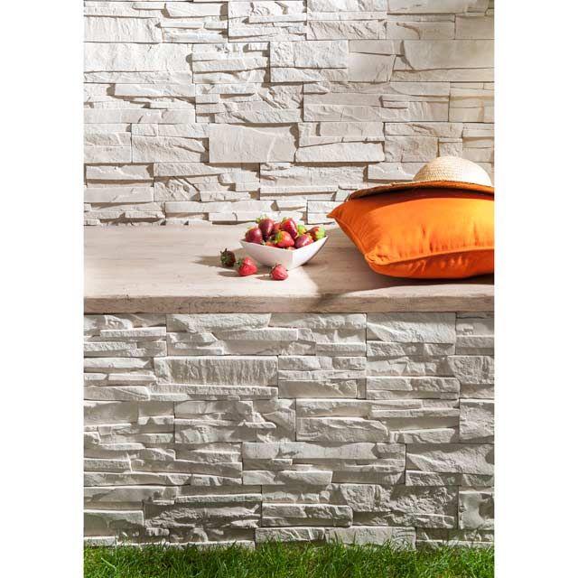plaquette de parement pierre sche castorama with beton mineral castorama. Black Bedroom Furniture Sets. Home Design Ideas